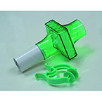 Filter Kit, PulmoGuard II, Bacterial, Viral, Dead Space 64 cc, Green, 1-in OD Mouthpiece, Nose Clip