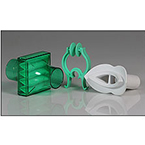 Filter Kit, PulmoGuard II, Bacterial, Viral, Dead Space 64 cc, Green, Mouthpiece, Clip, Box of 40