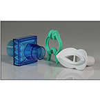 Filter Kit, PulmoGuard, Bacterial, Viral, Dead Space 60 cc, Blue, Rubber Mouthpiece, Clip, Box of 40