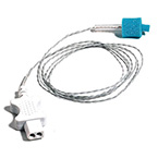 Temperature Probe, Tympanic, w/400 Series Thermistor, Individually Packaged