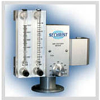 Oxygen Air Blender, Low Flow, Max Flow 40 LPM, 1-10 LPM Flowmeter, 1000 ml Flowmeter
