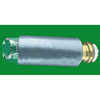 Laryngoscope Lamp, Fiber Optic, 2.5 volt, Std Thread, For ADC Green, Heine, Riester, Rusch and more