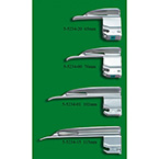 Laryngoscope Blade, GreenLine, Wis-Hipple, Fiber Optic, 76 mm, Neonate