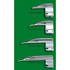 Laryngoscope Blade, GreenLine, Wis-Hipple, Fiber Optic, 115 mm, Small Child