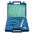 Laryngoscope Case, for 4 Blades, Handle, with Foam Insert, Hard Plastic