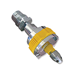Quick Connector, Air, Ohmeda Male, DISS Air Male, Yellow