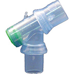 Airway Connector, Bodai BRONCH-SAFE, Double Swivel, for Bronchoscopy