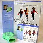 Peak Flow Meter, SpiroFlow, Child, 50-370 LPM