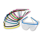 Frame, Reusable, Assorted Colors, for Resposables EyeShield, No Lens