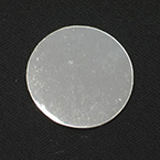 Probe Cover, Round, Silver, 1in, Disposable