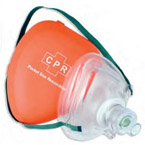 CPR Pocket Mask, Sterile, Latex Free, Single Use, Disposable