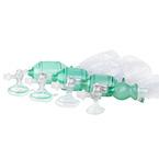 Manual Resuscitator BVM, AirFlow, SM Adult, Reg Adult Mask w/ Valve, O2 Bag, Manometer, Filter, PEEP