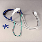 Nasal CPAP Interface Kit, Extra Large, Hospital Kit, Headgear, Tubing, Clips, Pads, Small Cannula