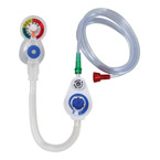 SafeT™ T-Piece Resuscitator, Neonate/Infant, 7ft O2 Tubing, Small Child Mask