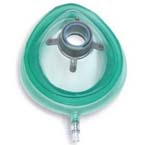 Face Mask, Premium Ultra Thin Cushion, Inflatable with Valve, Adult Wide, Disposable, 50/cs