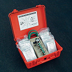 Case, E-Vent, Manifold System, for use of Multiple Ventilators for Mass Casualty Incidents