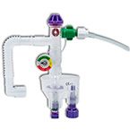 Automatic Resuscitator, Model PCM, Adult/ Pediatric, Flex Hose, O2 Tube, Manometer, Gas Entrainment