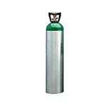 Oxygen Cylinder, M Cylinder, 3455 Liters, CGA540, Aluminum, MRI Compatible