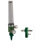 Oxygen Flowmeter, 0-15LPM, Chemetron Quick Connect Inlet, MRI Compatible
