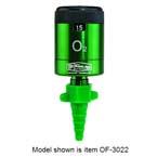 Oxygen Flowmeter, Click Style, 0-25 LPM, Chemtron Quick Connect