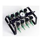 Manifold, Octi-Flo2, Oxygen, Emergency, Portable, Up to 8 Patients, 0-25 LPM Flowmeters