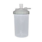 Humidifier, Dry, 350cc, High Flow, Bubble, 15LPM, Pressure Relief Valve