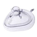 Face Mask, Series 810, Large Adult, Cushion, w/ Hook Ring and Inflation/Deflation Valve, Disposable