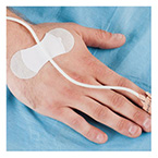Tube Securement Device, Grip-Lok, Uses Transpore Tape, Sterile, Medium (Tube Size 3-8mm)