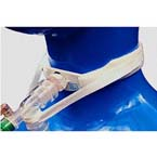 Tracheostomy Tube Holder, Vent-Tie (One Piece), Anti Disconnect Strap, Extra Soft Ventilator, Adult