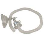 Ventilation Circuit, Patient Valve, 12in Corrugated Tubing, for AutoVent