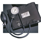 Blood Pressure Unit, Prosphyg 760, Black, Nylon Cuff, Carrying Case, Adult