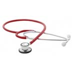 Stethoscope, Proscope, Pediatric, Red, Dual Head