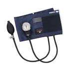 Blood Pressure Unit, Precision, Aneroid, Blue Nylon Cuff, Adult