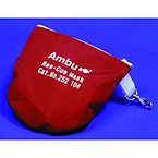 CPR Mouth Barrier, Res-Cue Mask, Basic Unit (Reusable Mask, 1-way Valve, Filter, Vinyl Gloves, Wipes, Hard Red Case)