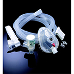 CPAP Procedure Pack, WhisperPak, Mask, Large, H Head Strap, Valve, 80in Tube