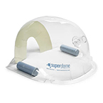 Oxygen Hood, SuperDome, Single Pack with 1 Set of Weights, 11 in x 6.5 in x 10.25 in