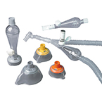 MDI Spacer Adapters, ACE, Valved Mouthpiece, Coaching Adapter, Non-Sterile