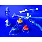 System, MDI Spacer, ACE, w/Inspiratory Coaching Adapter, Canister holder, Dual-Valved Mask