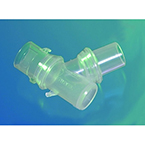 Elbow, UtraSet, Double Swivel, Ported, Self-Sealing Port, Clear