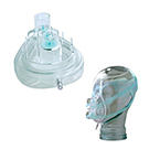 CPAP Mask, Twin Port, Medium-Large Adult, Single Patient Use