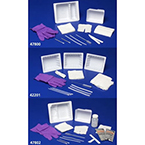 Tracheostomy Care Tray, Tray, Nitrile Gloves, 2 Pipe Cleaners, Trach Brush, 2 Cotton-Tipped Applicators, Drape, Twill Tape, Removable Basin, Trach Sponge, 4 Gauze