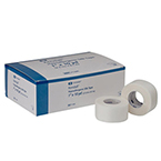 Cloth Tape, Curasilk, Hypoallergenic, 1-in x 10-yds, Case of 12 Boxes