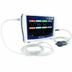 LifeSense II Capnograph/Pulse Oximeter, Medium Soft Reusable SpO2 Sensor (1 meter)
