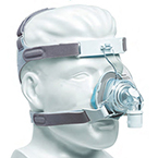 CPAP Mask, Nasal, TrueBlue Gel, Medium Wide