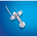 Tracheostomy Tube Kit, Blue Line Ultra Suctionaid, Cuffed, 6.0 mm ID, 2 Cannulas, Brush, Holder