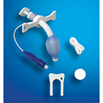 Tracheostomy Tube, Bivona Mid-Range Aire-Cuf, Adult, Size 5.0 mm, OD 7.4 mm, Length 60.0 mm