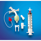 Tracheostomy Tube Kit, Bivona Fome-Cuf, Adult, Size 6.0 mm, ID 6.0 mm, OD 7.3 mm, Length 60.0 mm