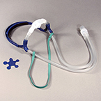 Nasal CPAP Cannula Set, w/All 4 Size Inserts S, M, LG, XL, Comfort Fit Headgear