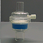 Heat Moisture Exchanger HME, Straight, with Sampling Port, without Filter, VT Range 150-1000mL