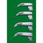 Laryngoscope Blade, GreenLine, American Profile IV Mac, Fiber Optic, Medium Adult, Size 3, 130 mm